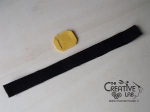 tutorial mini cilindro leprecauno gnomo feltro fai da te 16