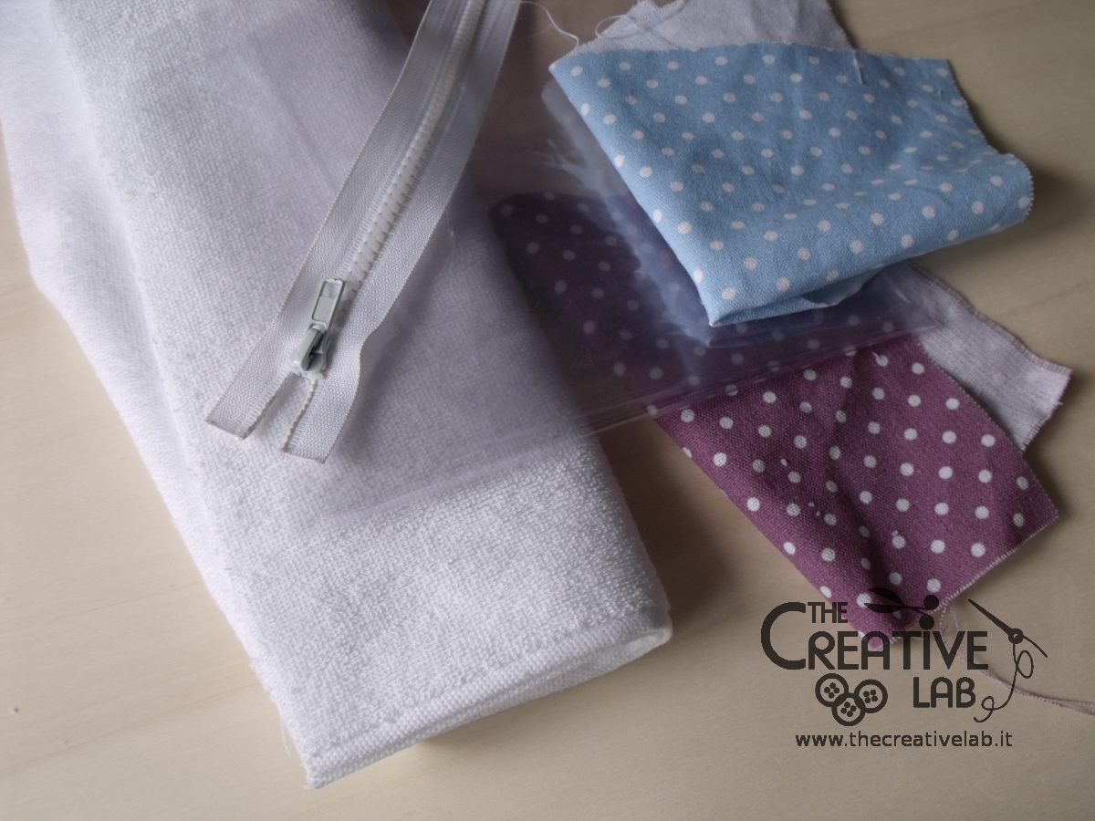 tutorial pochette impermeabile fai da te the creative lab