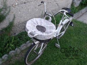 tutorial copri cestino bici bicicletta fai da te 01