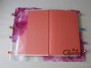 tutorial copertina cover libro quaderno impermeabile fai da te 03