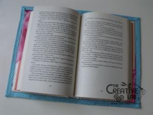 tutorial copertina cover libro quaderno impermeabile fai da te 10