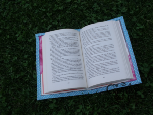 tutorial copertina cover libro quaderno impermeabile fai da te 12