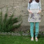 Tutorial: come cucire un grembiule in stile shabby provenzale