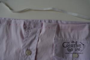 come trasformare vecchia camicia in top refashion riciclo 06