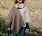 come fare poncho diy tutorial facile 13