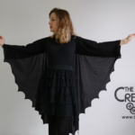 Costume ali da pipistrello – tutorial Halloween