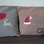 Tutorial: come fare dei cuscini natalizi fai da te – Pinturas la Pajarita