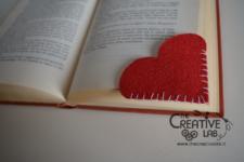 tutorial segnalibro pannolenci cuore san valentino 03