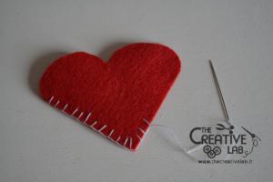tutorial segnalibro pannolenci cuore san valentino 05