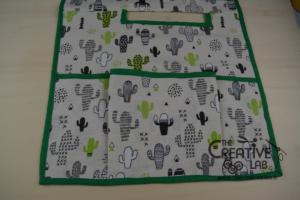 tutorial copri macchina da cucire fai da te 13