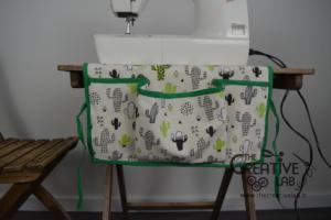 tutorial copri macchina da cucire fai da te 16