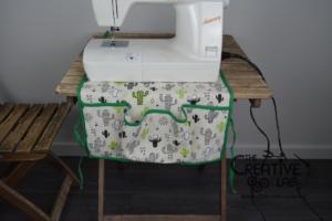 tutorial copri macchina da cucire fai da te 19