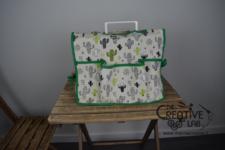 tutorial copri macchina da cucire fai da te 20
