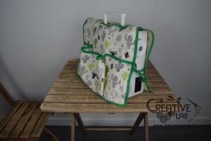 tutorial copri macchina da cucire fai da te 21