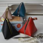 Tutorial: portamonete triangolare in ecopelle fai da te