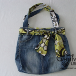 How to convert an old pair of jeans into a new bag – diy recycle tutorial